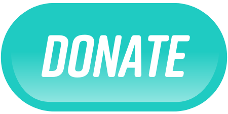 A teal button that says DONATE